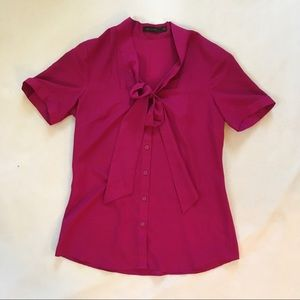 The Limited Front-Tie Blouse